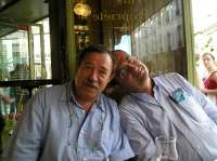 With Jefim Fistein in Paris, June 2006
