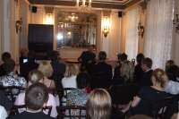 Meeting with high school students from Cheb. Prague, hotel Europe, 13 May 2009