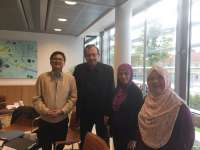 With trainees of the course Evidence-Based Medicine in Schizophrenia, LINF, Copenhagen, Denmark